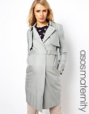 ASOS Maternity Drape Trench