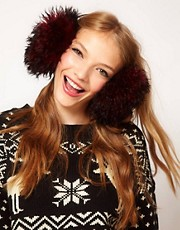 ASOS Mongolian Earmuffs
