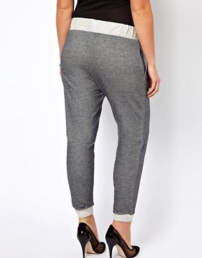 Image 2 ofASOS CURVE Basic Fleck Jogger