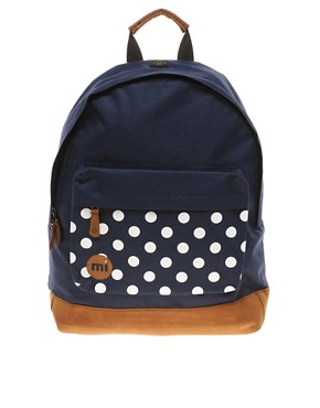 Image 1 ofMi-Pac Polkadot Backpack