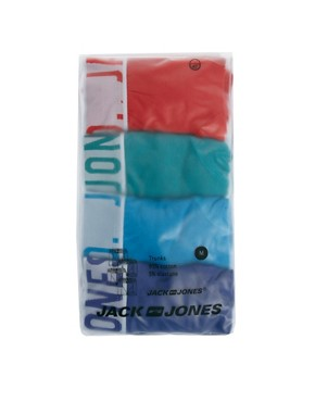 Image 4 ofJack &amp; Jones Herbert 4 Pack Trunks