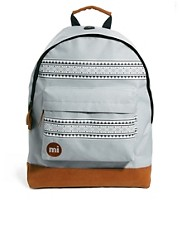 Mi Pac Nordic Print Backpack