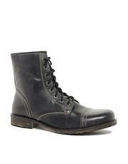Frank Wright  Leather Military Boots