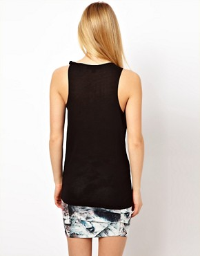 Image 2 ofFactory by Erik Hart Jersey Tank Top with Twisted Strap