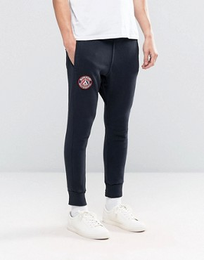 Superdry Orange Label Drop Crotch Joggers