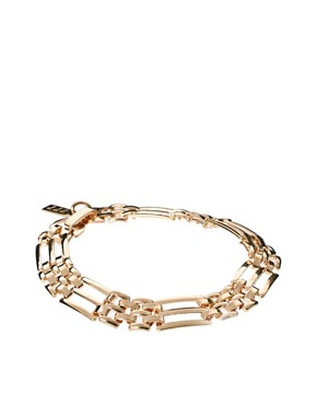 Image 1 ofSusan Caplan Exclusive For ASOS Vintage 80s Chain Link Bracelet