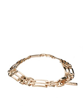 Image 2 ofSusan Caplan Exclusive For ASOS Vintage 80s Chain Link Bracelet