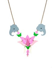 Tatty Devine Lotus Flower Celebration Necklace