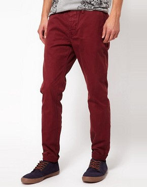 Image 1 ofRiver Island Nolan Chinos