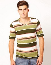 Dr Denim Stripe T-Shirt