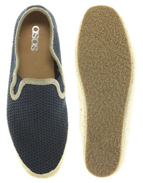 Bild 3 von ASOS  Espadrilles zum Einschlpfen mit Netzbahn