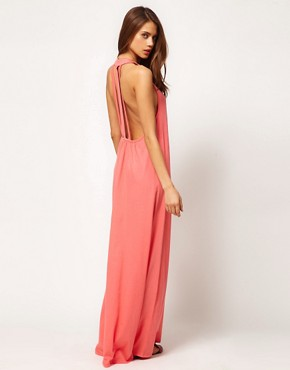 Image 1 of ASOS Maxi Dress With Triple Strap Back Detail