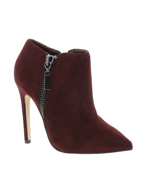 Image 1 ofCarvela Samba Burgundy Pointed Shoe Boots
