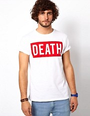 ASOS T-Shirt With Death Print