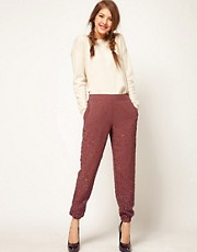 ASOS Jogger With Lux Embellishment