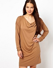 Ganni Barneys Draped Dress