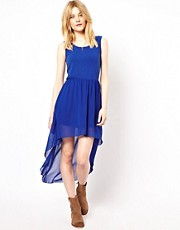Lovestruck Dipped Hem Dress