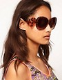 Image 3 ofASOS Oversized &#39;70s Sunglasses With Filigree Arm Detail