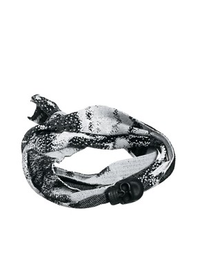 Image 1 ofIcon Brand Skull Bracelet Exclusive to ASOS