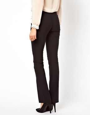 Image 2 ofASOS PETITE Trousers With Kick Flare