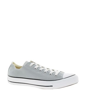 Image 1 ofConverse All Star Seasonal Grey Ox Trainers