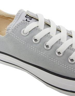 Image 2 ofConverse All Star Seasonal Grey Ox Trainers