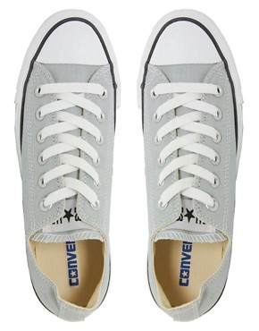 Image 3 ofConverse All Star Seasonal Grey Ox Trainers