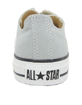 Image 4 ofConverse All Star Seasonal Grey Ox Trainers