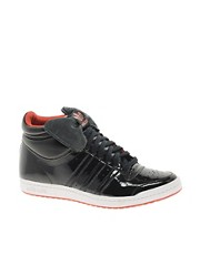 Adidas Top Ten Hi Sleek Bow Black Trainers