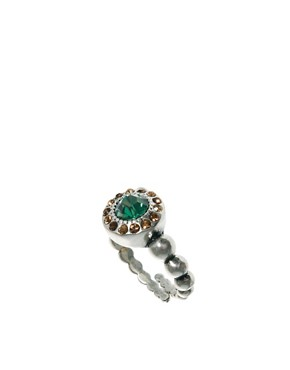 Image 1 ofPilgrim Adjustable Crystal Ring