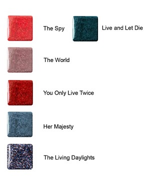 Image 2 ofO.P.I Skyfall/James Bond Collection - Glitter/Shimmer