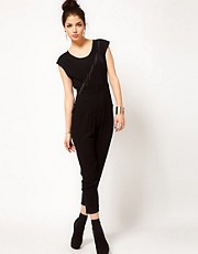 Prey of London Metal Fringe Jumpsuit