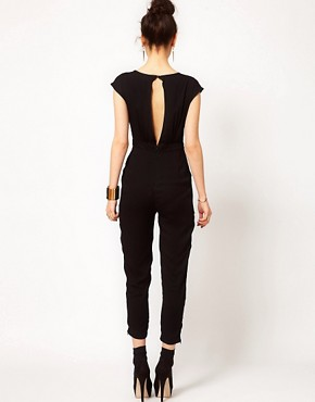 Image 2 ofPrey of London Metal Fringe Jumpsuit