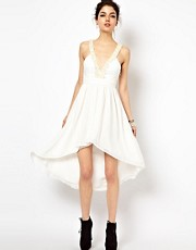 Ginger Fizz Dress With Pearl Encrusted Strap