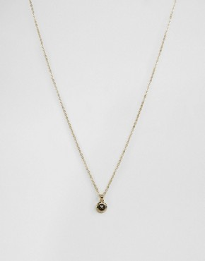 Ted Baker Mini Button Pendant Necklace