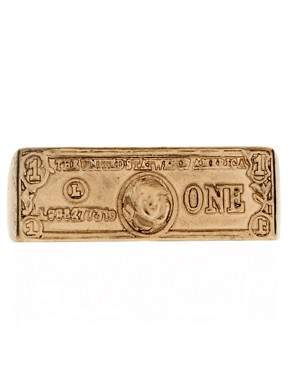 Image 2 ofASOS Double Dollar Bill Ring