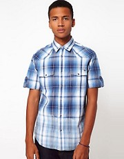 Freesoul Shirt Short Sleeve Check