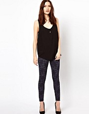 Warehouse Jacquard Legging