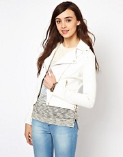 Warehouse Double Buckle Biker Jacket