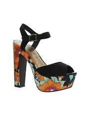 New Look Plantain Heeled Sandals