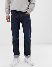 Diesel - Larkee 0806W - Jeans dritti a lavaggio scuro