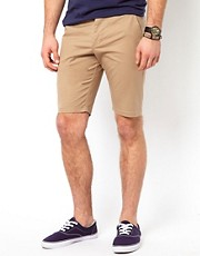 ASOS Chino Shorts In Skinny Fit