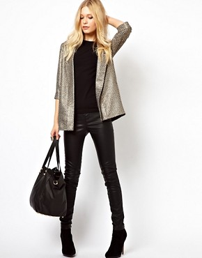 Image 4 ofRiver Island Oversized Blazer