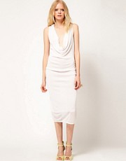 Dagmar Sleeveless Drape Dress