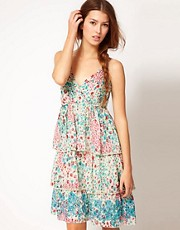 Frock And Frill Floral Sun Dress