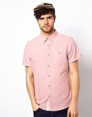 New Look Oxford Shirt with Short Sleeves
