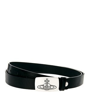 Image 1 ofVivienne Westwood Black Orb Belt