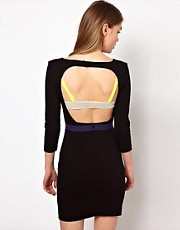 Markus Lupfer Backless Bra Dress