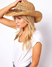 Oasis Feather Stetson Hat