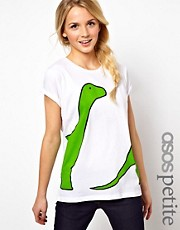 ASOS PETITE T-shirt In Dino Print